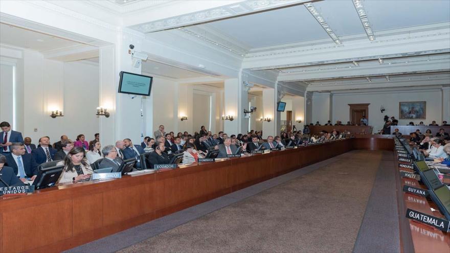 OEA aprueba convocatoria para activar el TIAR en Venezuela | HISPANTV