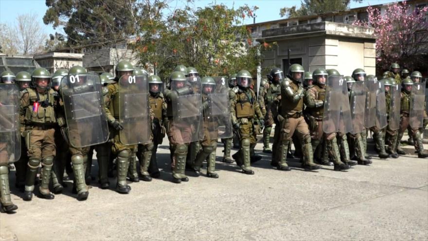 Memoria de Allende, neofascismo y violencia policial en Chile