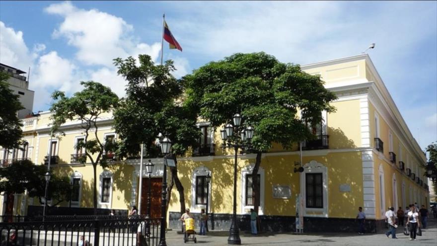 La sede de la Cancillería venezolana, Caracas (capital venezolana).