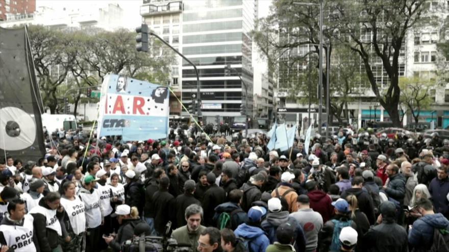 Tensiones Irán-EEUU. Ocupación israelí. Protesta en Argentina