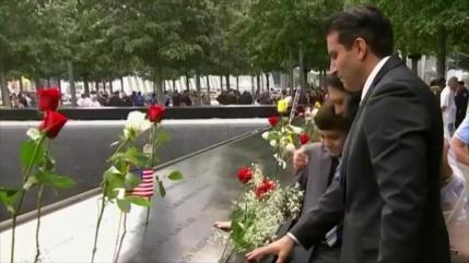 Homenajean a víctimas del 9/11 y piden la verdad sobre los ataques