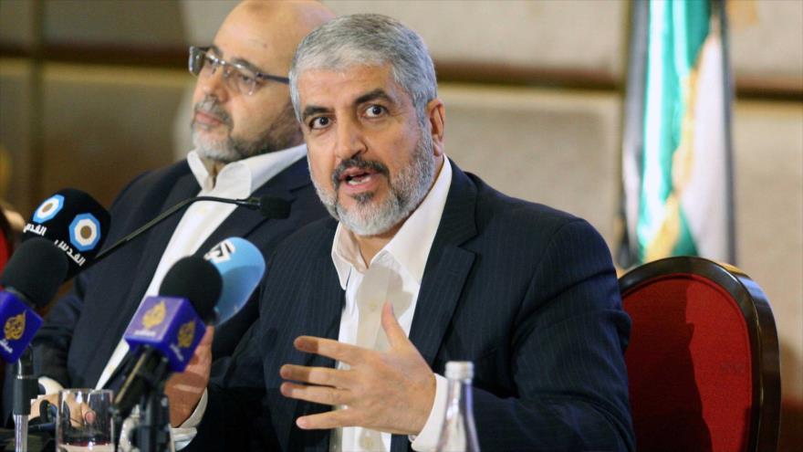 El exjefe político del Movimiento de Resistencia Islámica de Palestina (HAMAS), Jaled Mashal.