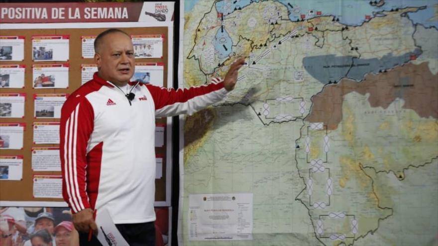 Cabello: Venezuela se defenderá de quien sea y a la hora que sea | HISPANTV