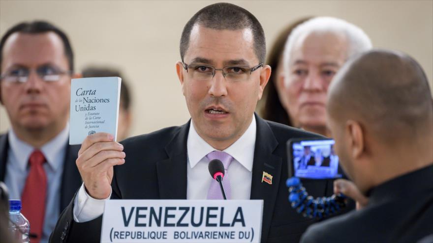 """Venezuela denuncia ante ONU """"criminal"""" bloqueo económico de EEUU"""