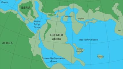 Descubren restos de un continente perdido en el sur de Europa