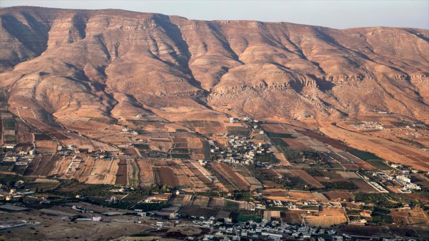 Una vista general de un área central del Valle del Jordán, 12 de septiembre de 2019. (Foto: AFP)