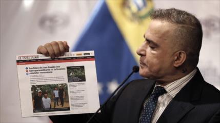 Venezuela investiga a Guaidó por fotos con narcoparamilitares