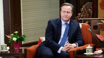 Cameron: Segundo referéndum de Brexit podría desbloquear la crisis