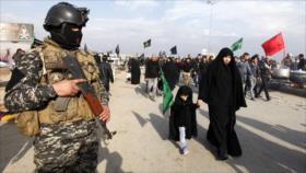 Irak desmantela grupo terrorista que pretendía atentar en Arbain