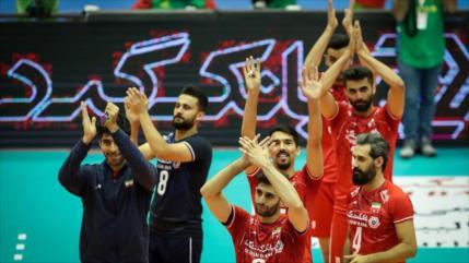 Equipo de voleibol iraní asegura pase a Juegos Olímpicos 2020