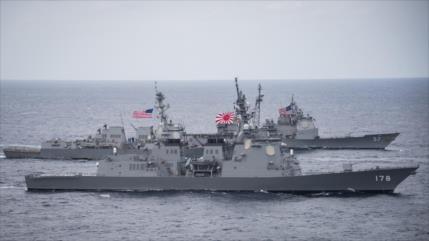 'China expulsa un destructor estadounidense tras una intrusión'