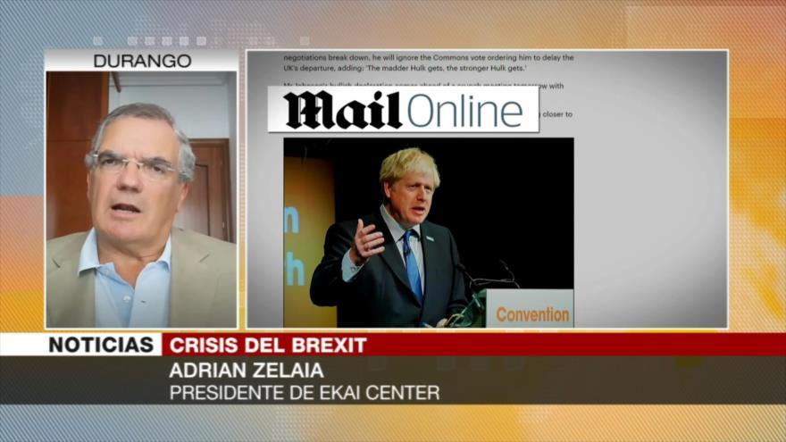 Zelaia: Representantes de Londres en realidad no creían en Brexit