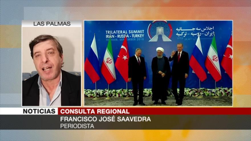 'A Rusia, Irán y Turquía les queda poco para resolver en Siria'