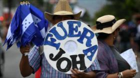 Hondureños exigen una verdadera independencia
