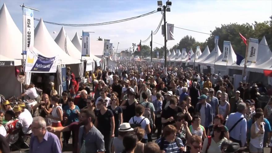 Francia celebra la 84.ª edición de la Fiesta de la Humanidad