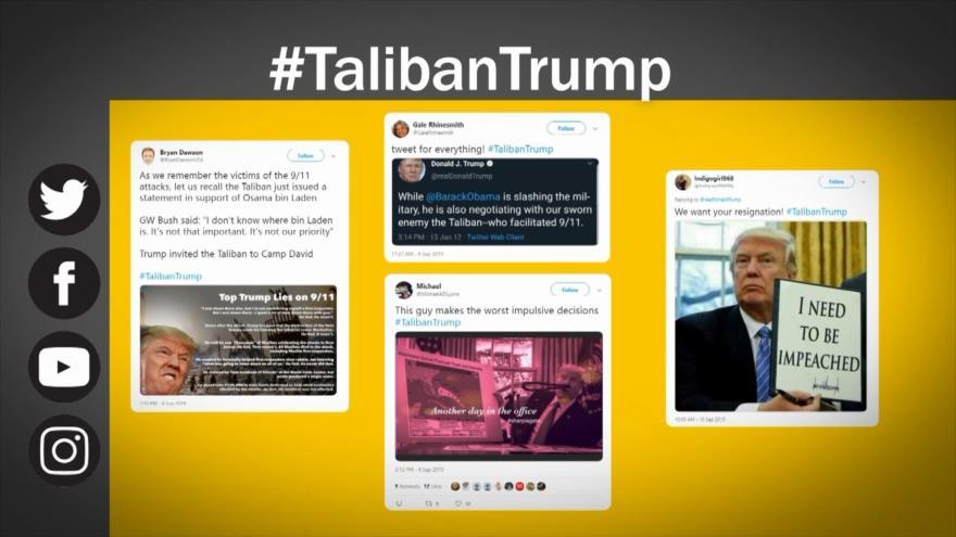 Etiquetaje: Trump cancela las negociaciones con Talibán