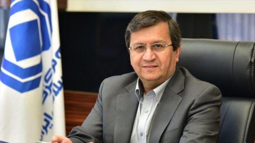 El presidente del Banco Central de Irán, Abdolnaser Hemati.