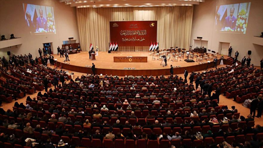 Una sesión del Parlamento de Irak.