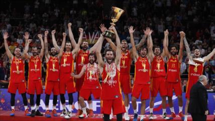 España logra el oro del Mundial de Baloncesto de China 2019