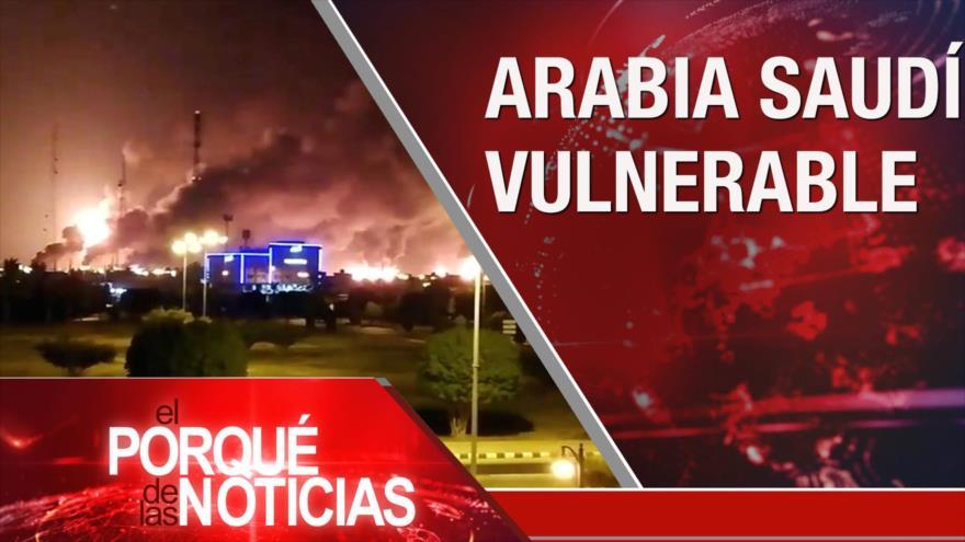 El Porqué de las Noticias: Crisis de Siria. Ataque a Aramco. Diálogo en Venezuela