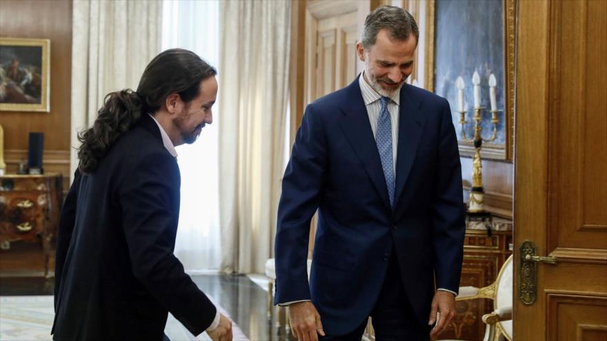 Iglesias: Rey debe avisar a Sánchez que su deber es pactar acuerdos
