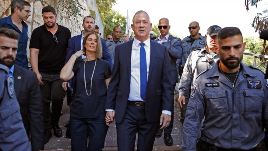 El antiguo jefe del estado mayor del ejército israelí Benny Gantz, 17 de septiembre de 2019. (Foto: AFP)