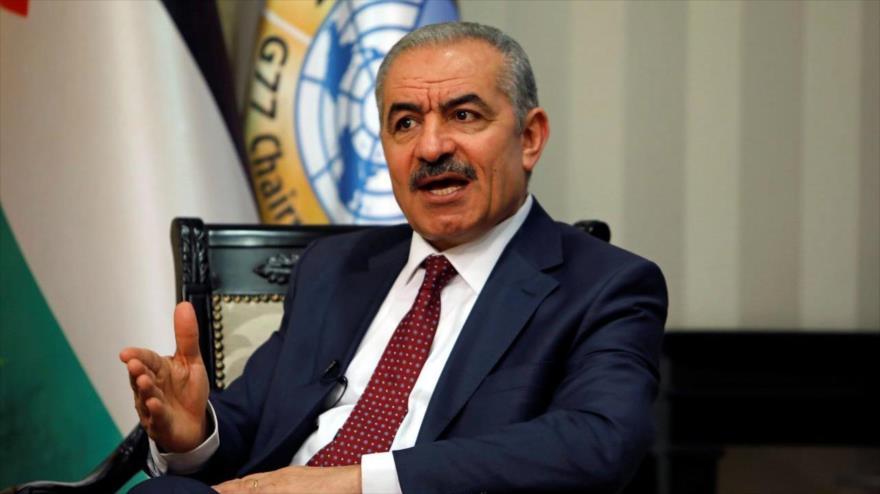 El primer ministro palestino, Muhamad Shtayeh.