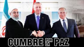 Detrás de la Razón: Cumbre por la Paz, ante la presencia ilegal de EEUU que amenaza la soberanía de Siria
