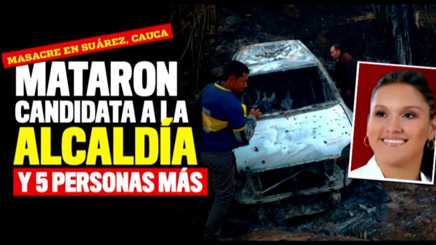 Alarmantes cifras de asesinatos de candidatos en Colombia