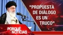 El Porqué de las Noticias: Postura de Irán. Elecciones israelíes. Incertidumbre política en España