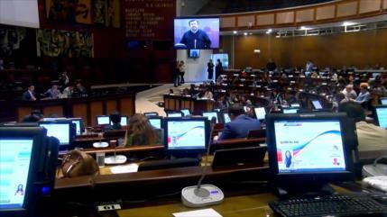 Derecha y la bancada de Lenín Moreno votan por denuncia de Unasur