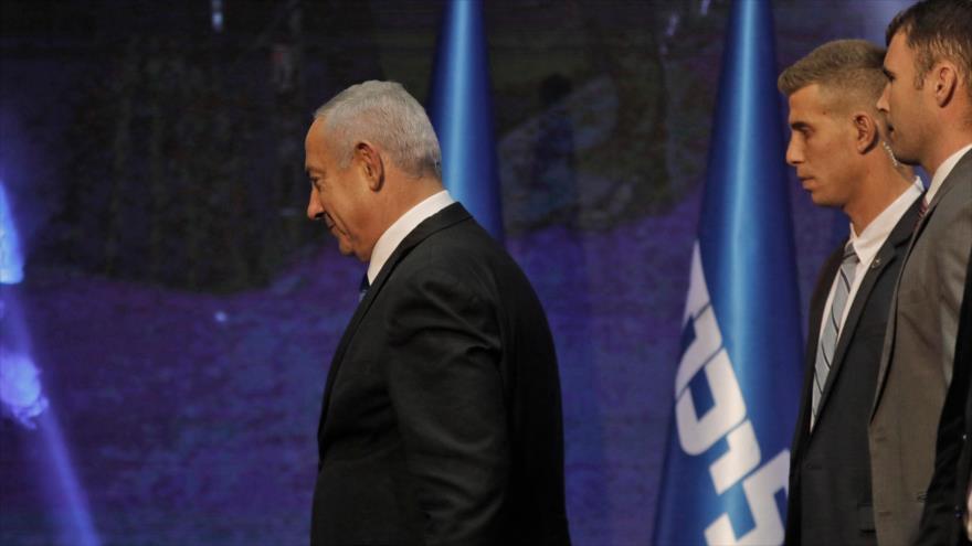Netanyahu y Gantz, empatados a punto de terminar recuento de votos | HISPANTV