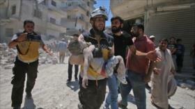 'Cascos blancos' ejecutan a civiles para montar vídeos falsos