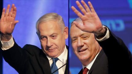 HAMAS ve 'dos caras de una moneda' en Netanyahu y Gantz
