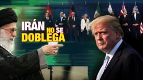 Detrás de la Razón: Irán no se doblega. Rechaza diálogo con EEUU mientras continúe la política hostil
