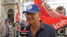 Convocan una huelga general en el sector educativo de Italia