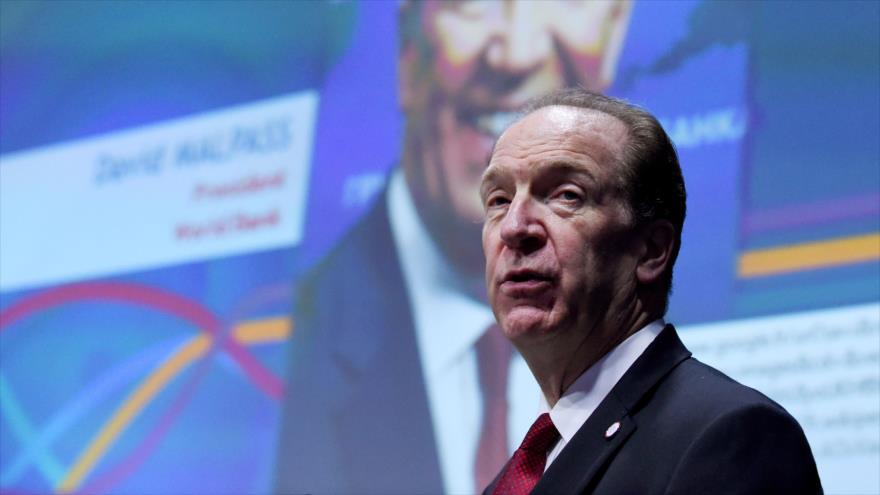 El presidente del Banco Mundial (BM), David Malpass, en un acto en París (capital de Francia), 16 de julio de 2019. (Foto: AFP)