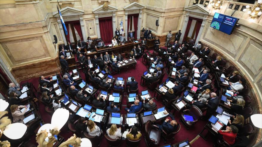 Senado de Argentina convierte en ley la emergencia alimentaria