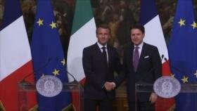Italia y Francia exigen la reforma migratoria de la Unión Europea