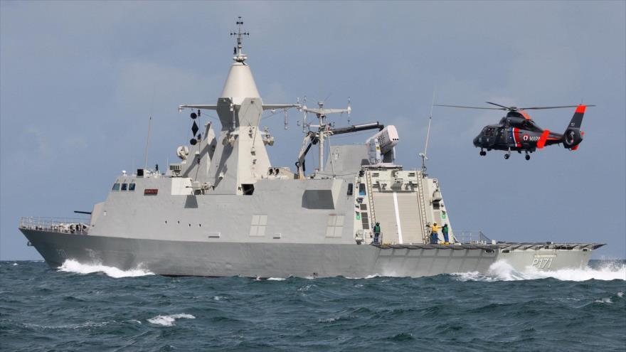 Una corbeta emiratí de clase Baynunah.