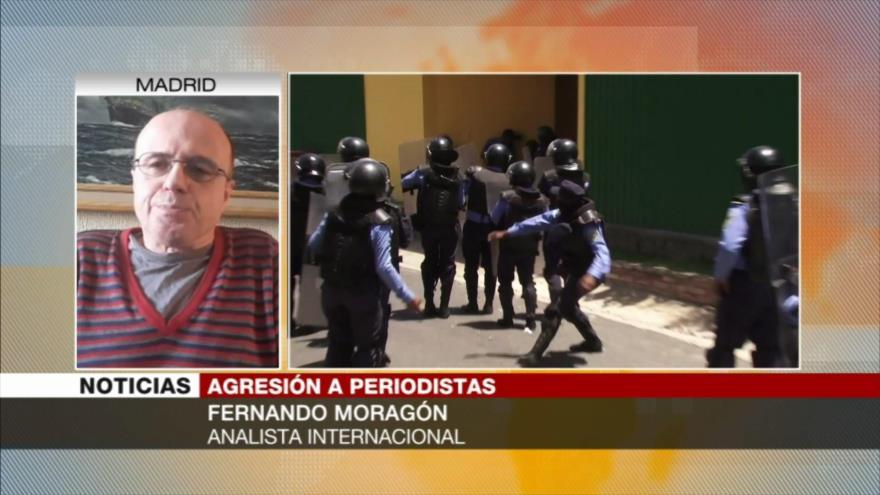 Moragón: Honduras impide informar sobre la situación en el país