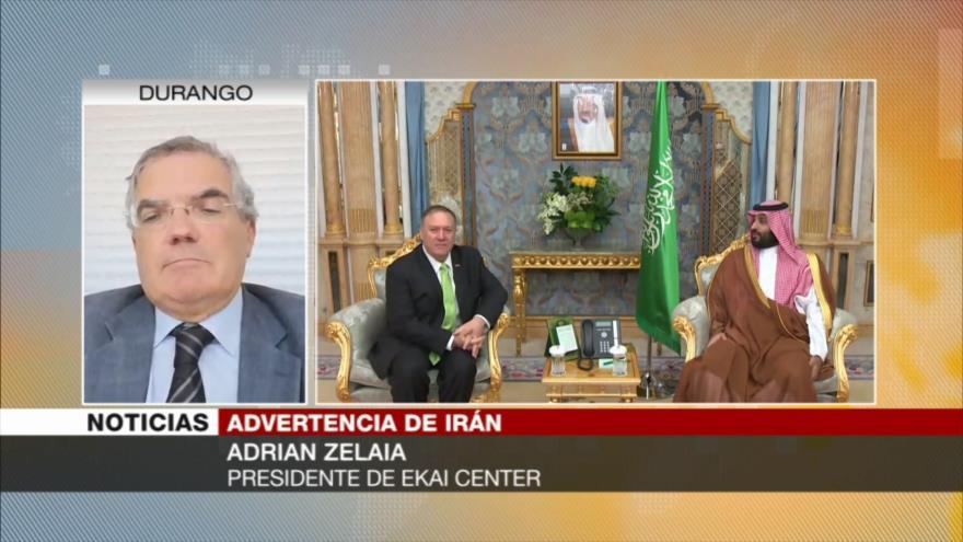 Zelaia: EEUU es consciente de que Irán no es Irak ni Siria