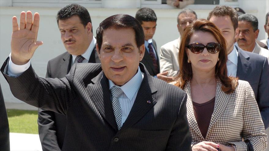 El expresidente de Túnez Zin Abedin Ben Ali, 9 de mayo de 2010.