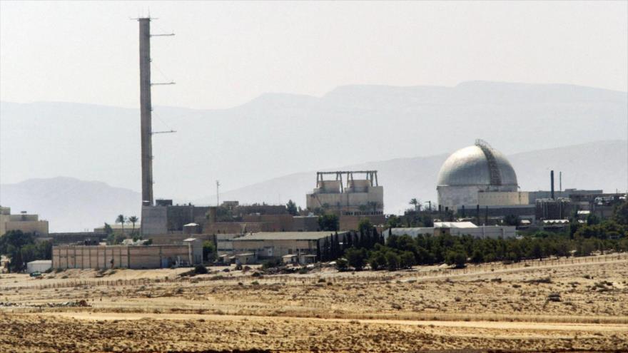Dimona, central nuclear de Israel, ubicada en el sur de los territorios palestinos ocupados.