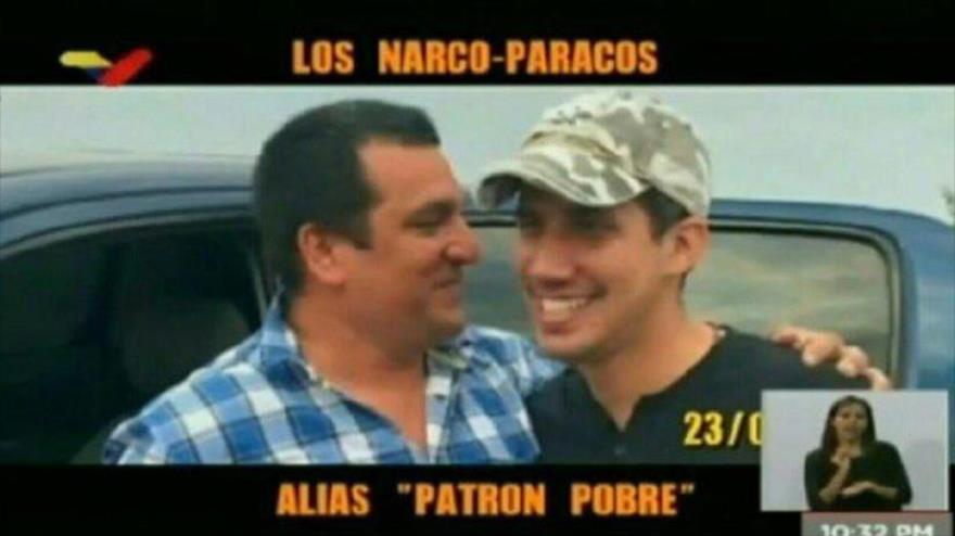 Venezuela revela más fotos de Guaidó con narcoparamilitares