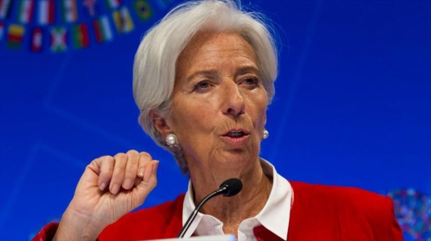 Christine Lagarde, la directora gerente del Fondo Monetario Internacional (FMI).