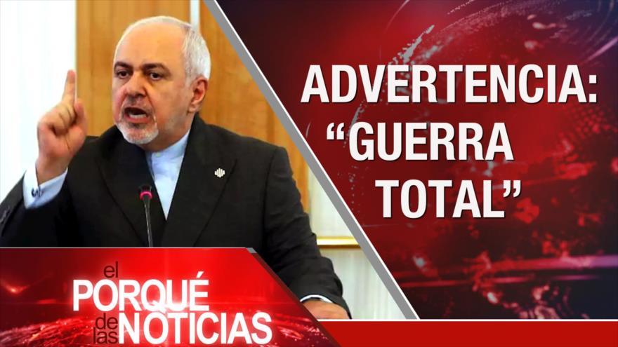 """El Porqué de las Noticias: Irán advierte de una """"guerra total"""". Crisis electoral israelí. Crónica del caótico Brexit"""