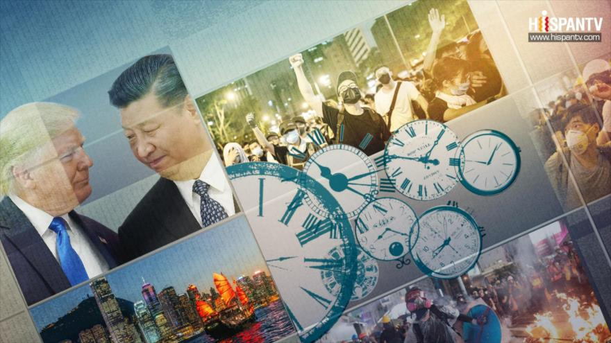 10 minutos: Hong Kong y guerra comercial