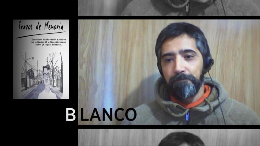 """Blanco: """"Trazos de Memoria"""" dirigido por Pablo Céspedes y Víctor Hugo Cisterna"""
