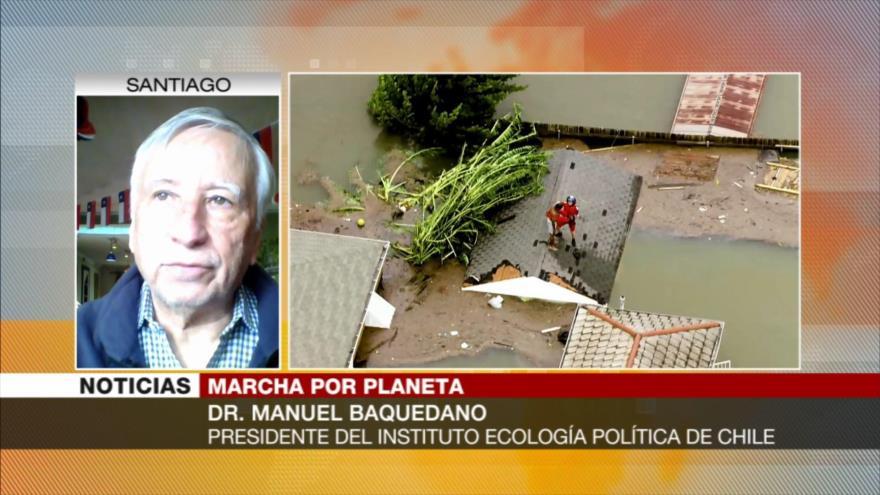 'Huelga global por cambio climático es inicio de una rebelión'